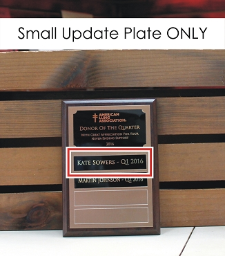 Update Plate for 5